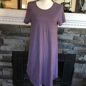 LuLaRoe Carly dress lavender so so soft